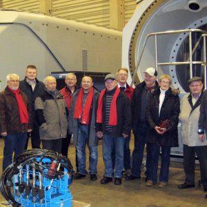 Die SPD Burbach zu Besuch in der Fertigung der Fuhrländer AG