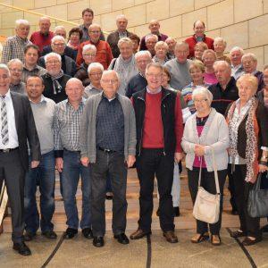 Falk Heinrichs empfing jetzt zahlreiche Gäste aus seiner Heimatgemeinde Burbach im Düsseldorfer Landtag. Es war seine erste offizielle Besuchergruppe.