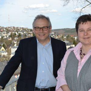 Tanja Wagener, heimische SPD-Landtagsabgeordnete, traf sich jetzt im Kreiskirchenamt Siegen mit Superintendent Peter-Thomas Stuberg zu einem ersten gemeinsamen Gespräch.