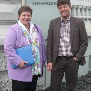 Zu einem offiziellen Meinungsaustausch trafen sich jetzt Tanja Wagener (SPD-MdL) und der neue AWO-Kreisgeschäftsführer, Dr. Andreas M. Neumann